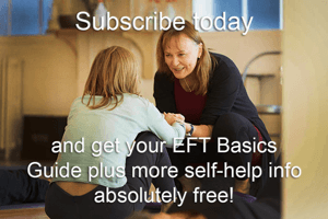 Subscribe offer image of Kate helping someone using Energy Psychology for stress and addictions