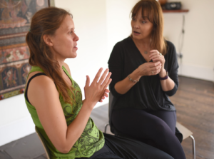 EFT Tapping with a client